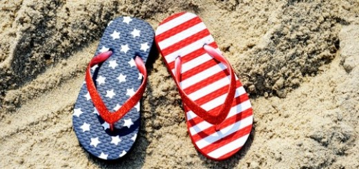 4th of july flip flop