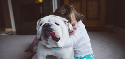 Friendship-Between-a-Young-Girl-and-a-dog-6