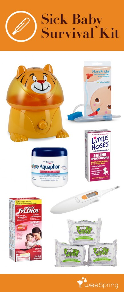 sick baby survival kit
