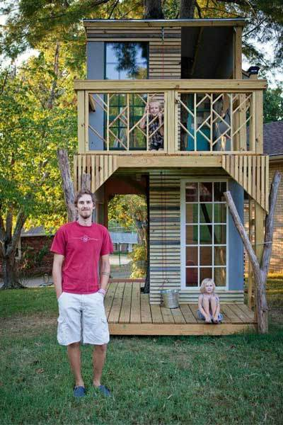 escape 15 cool tree houses thatll leave you green with envy - Cool Kids Tree House
