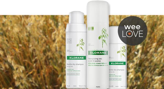 klorane dry shampoo weelove