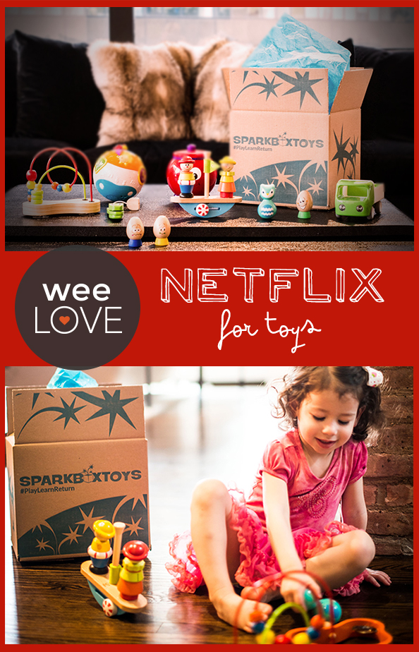 Netflix for toys pin