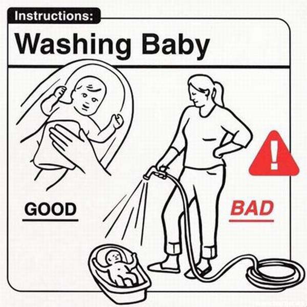 Funny Baby Instruction Manual