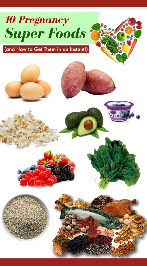 pregnancy super foods