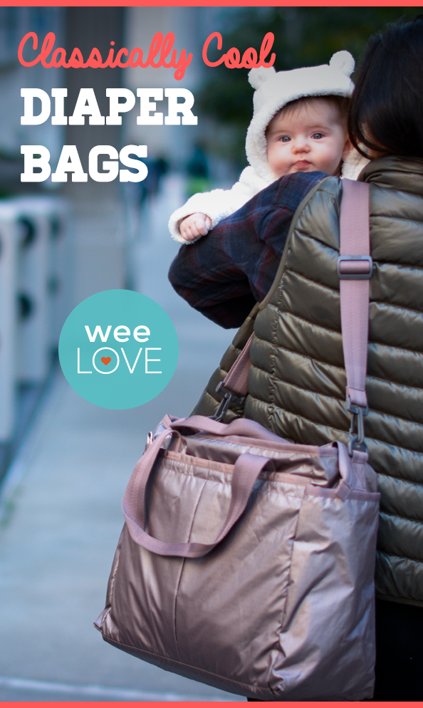 Classically Cool Living Rooms: WeeLove: Classically Cool Diaper Bags