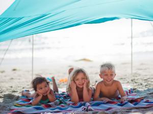 Kids Under Tent-1