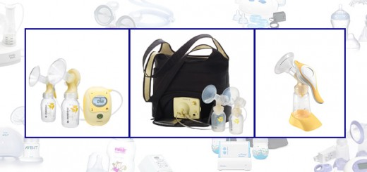 Breast pump photo montage, Medela Harmony, Medela Freestyle, Medela Pump In Style