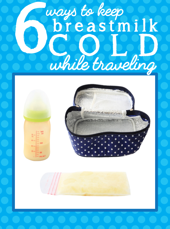 keeping breast milk cold