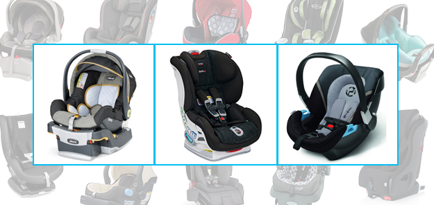 Baby Gear Guide: Car Seats, Cybex Aton 2, Chicco Key Fit, Nuna Pipa, Diono Radian, Britax Clicktight,Clek Foonf