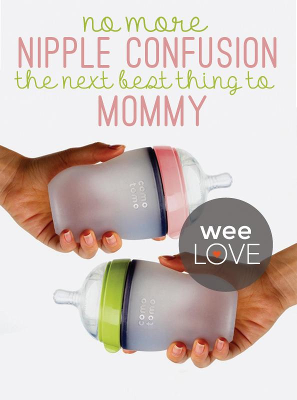 weeLove comotomo baby bottles