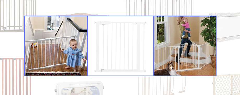 weeSpring baby gear guide baby gates, Munchkin easy open metal gate, Kidco G300 autoconfigure baby gate, cardinal gate, babyproofing