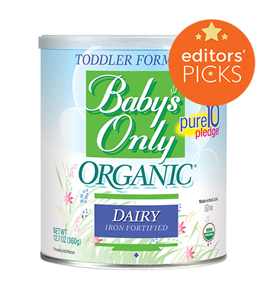Baby's Only organic baby formula