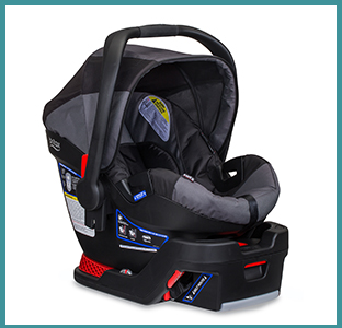 BOB Britax B-Safe 35 infant car seat with weeSpring
