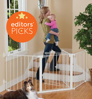 KidCo G3000 Auto Close Configure baby gate, weeSpring top pick, babyproofing