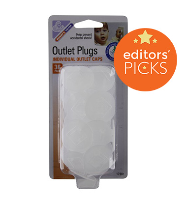 Mommy's Helper outlet plugs, weeSpring top pick, babyproofing