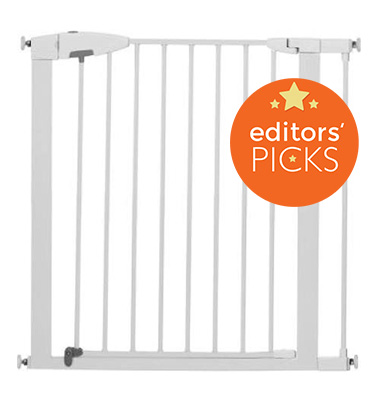 Munchkin easy open baby gate, weeSpring top pick, babyproofing