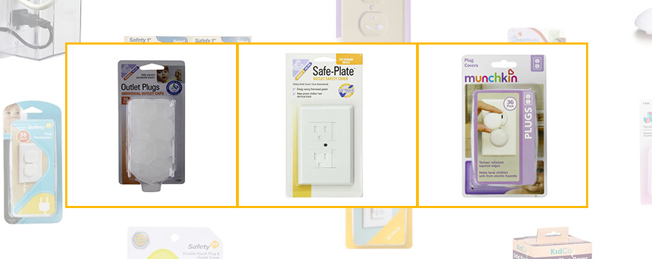 weeSpring baby gear guide mommy's helper, safe plate, and munchkin outlet covers, babyproofing