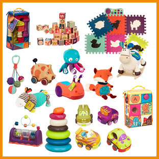 B. Toys baby and toddler toys, weeSpring giveaway