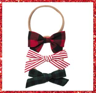 Free Babes bows and headbands, 2016 weeSpring holiday gift guide