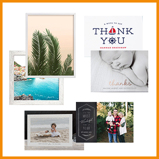 minted holiday cards, thank you notes, and unique art gifts, weeSpring giveaway