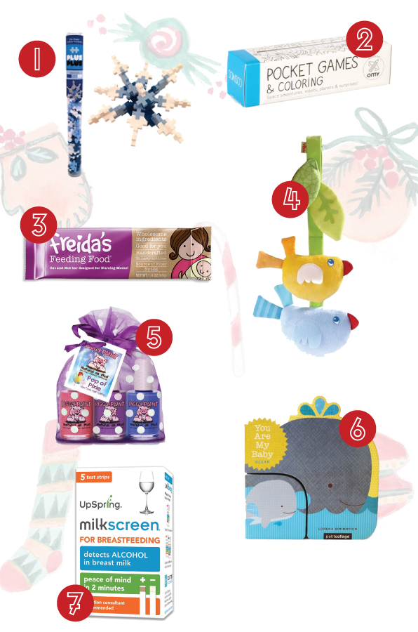 Stocking stuffers, 2016 weeSpring holiday gift guide