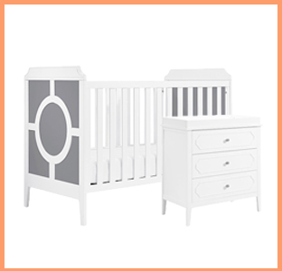 DaVinci Poppy Regency crib and changer dresser, weeSpring giveaway