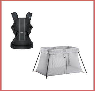 BabyBjorn Baby Carrier One, Travel Crib Light, weeSpring giveaway