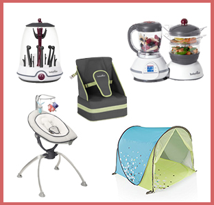 Babymoov Swoon up swing, sterilizer, food prep, baby seat, and anti-uv outdoors tent, weeSpring giveaway