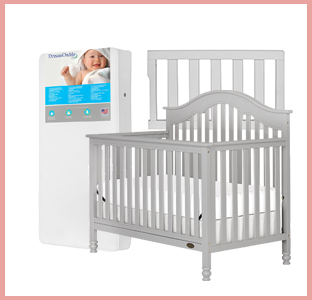 Dream on Me Charlotte crib, 150 mattress, weeSpring giveaway